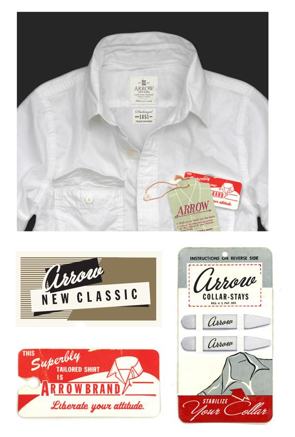 Arrow Cluett Labels and Packaging by Glenn Wolk 08