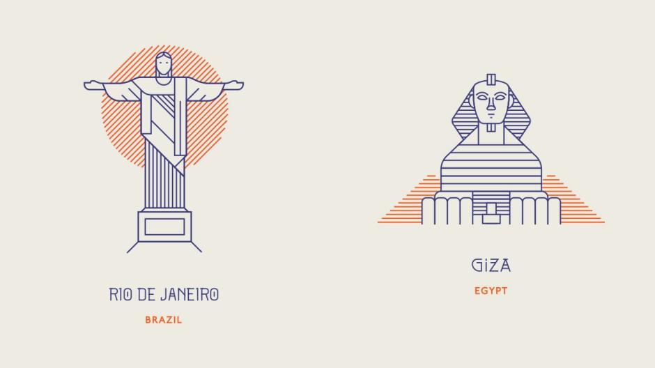World Landmarks-2b