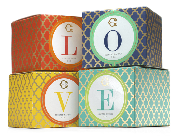 Velas de Lujo Packaging por Yana Beylinson - 01