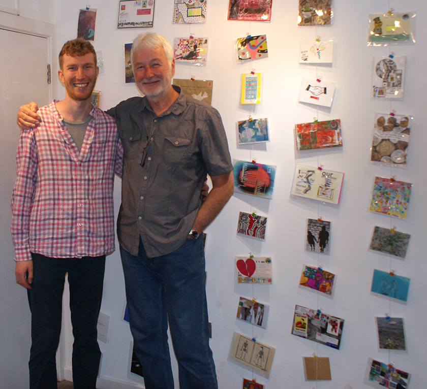 James and Kevin Gillen at the show