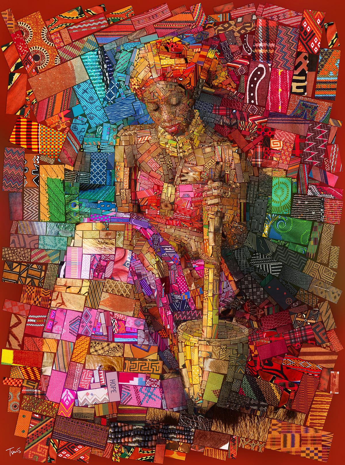 African bricks by Charis Tsevis