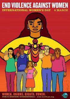 Favianna Rodgriguez: End Violence Against Women 2013