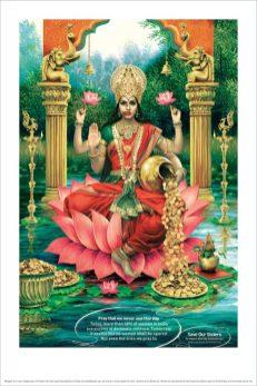 Santosh Padhi / Taproot Dentsu: Indian Goddess Laxmi Save Our Sisters