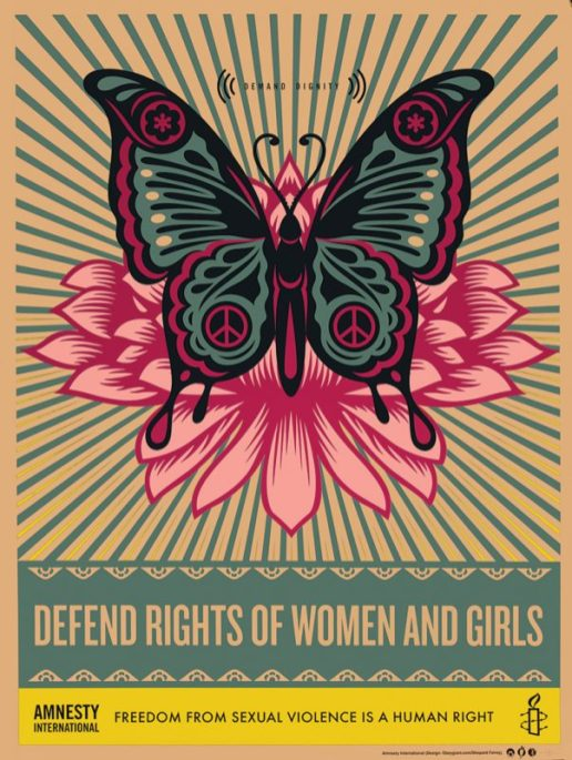 Shepard Fairey: Defend the Rights of Women and Girls