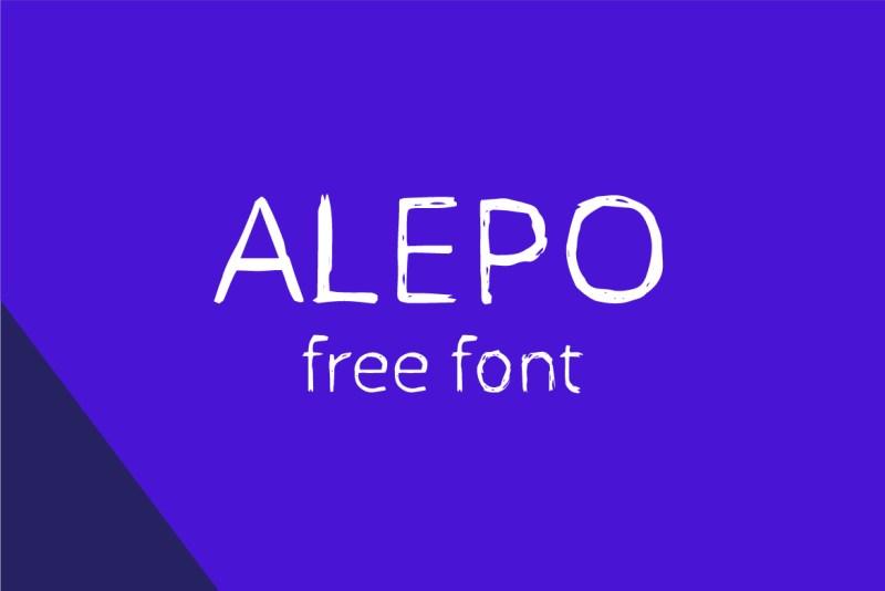 alepo_free_font_prezentation_1