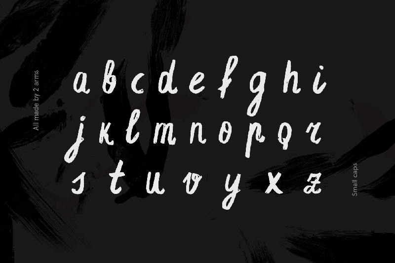 Espa Extended Handwritten Brush Font