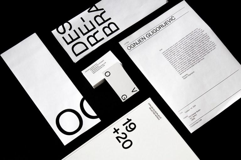 Typography Design by Ognjen Gligorijević