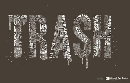 Typography Ad 1