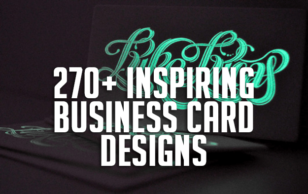 270+ Inspiring Business Card Designs