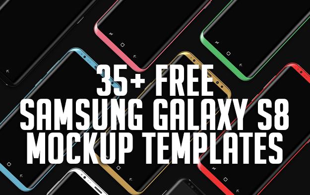 35+ Free Samsung Galaxy S8 Mockup Templates