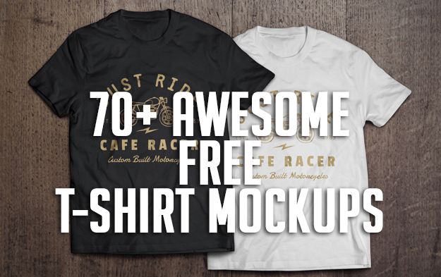 70+ Awesome Free T-Shirt Mockups