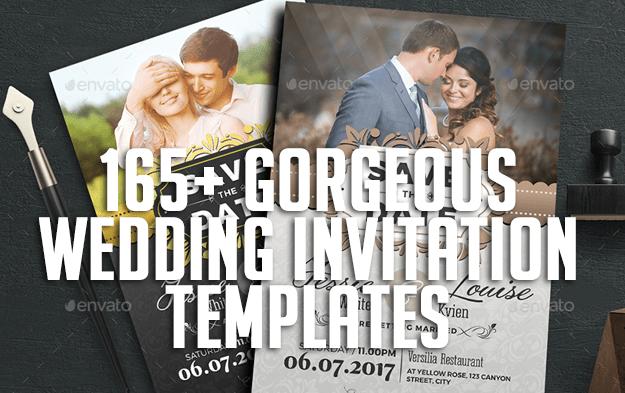 165+ Gorgeous Wedding Invitation Templates