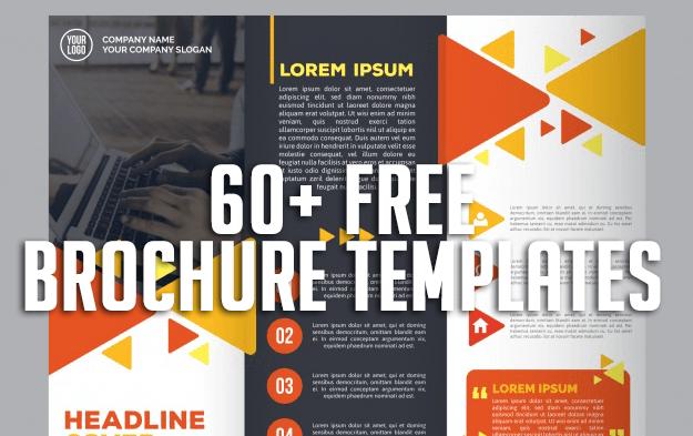 60+ Free Brochure Templates