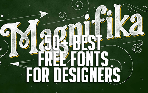 50+ Best Free Fonts for Designers