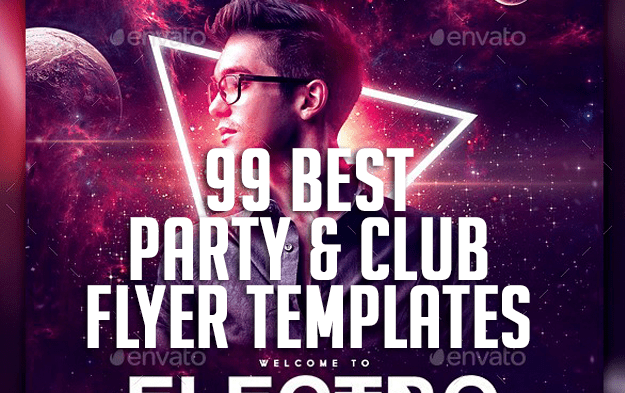 99 Best Party & Club Flyer Templates