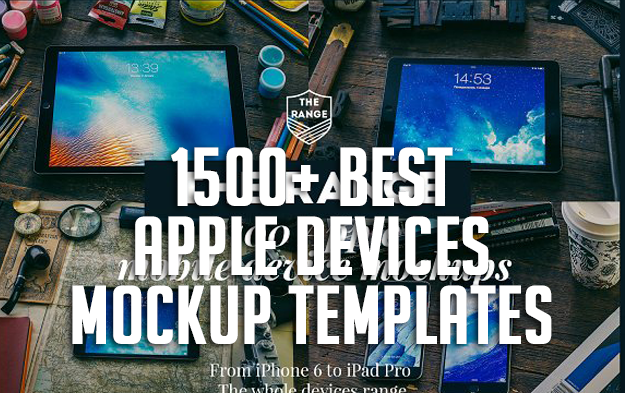 1500+ Best Apple Devices Mockup Templates