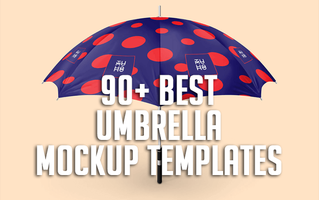 90+ Best Umbrella Mockup Templates