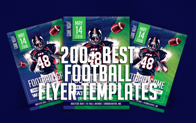 200+ Best Football Flyer Templates