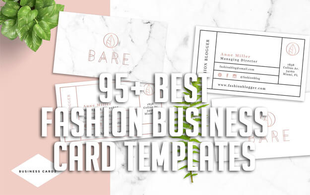 95+ Best Fashion Business Card Templates