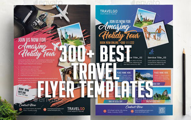 300+ Best Travel Flyer Templates