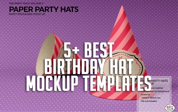 5+ Best Birthday Hat Mockup Templates