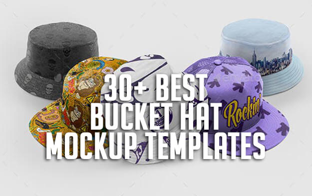 30+ Best Bucket Hat Mockup Templates