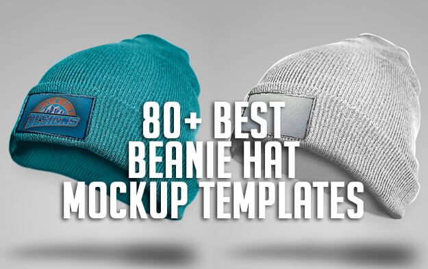 80+ Best Beanie Hat Mockup Templates