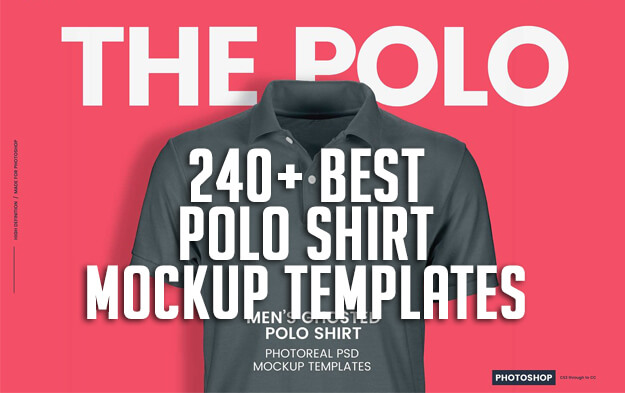 240+ Best Polo Shirt Mockup Templates
