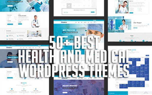 50+ Best Health and Medical WordPress Themes for 2020