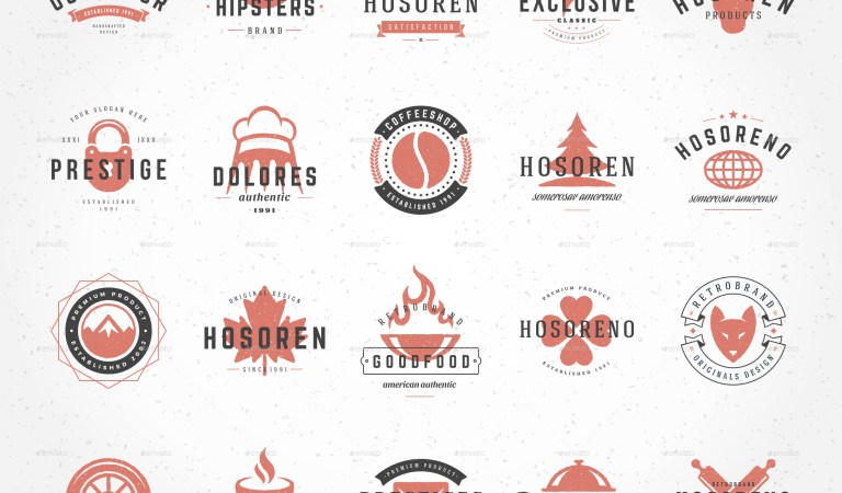 1100 Logos and Badges Bundle