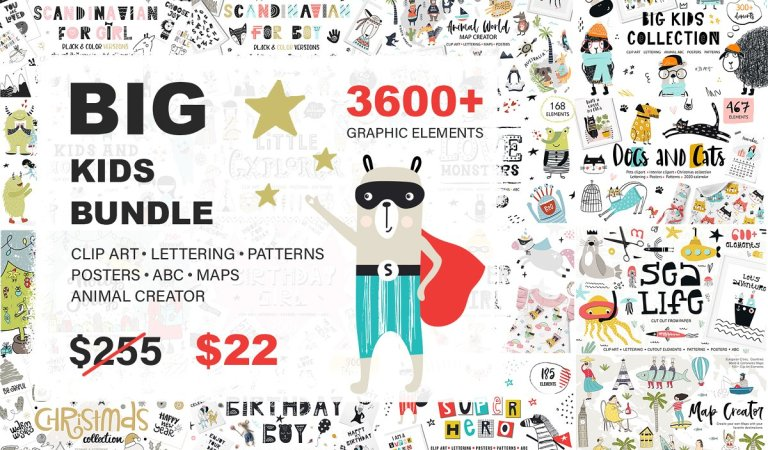 3609 In 1 – Big Kids Bundle