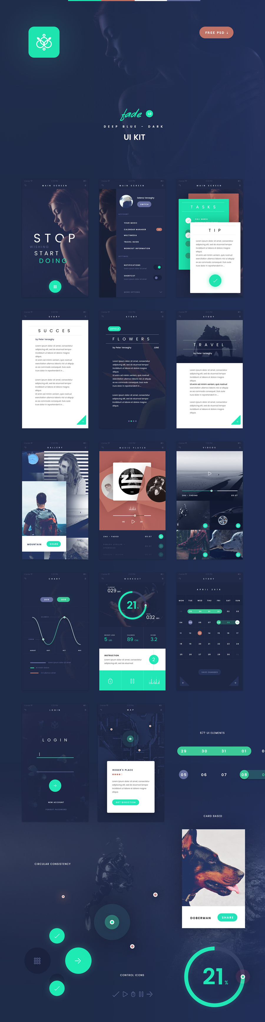 graphicghost_fade_app_ui_kit