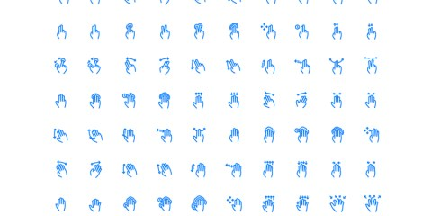 Graphic Ghost - 100 Gesture and Fingerprints Icons