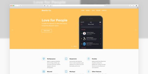 Graphic Ghost - Beetle Wordpress Theme