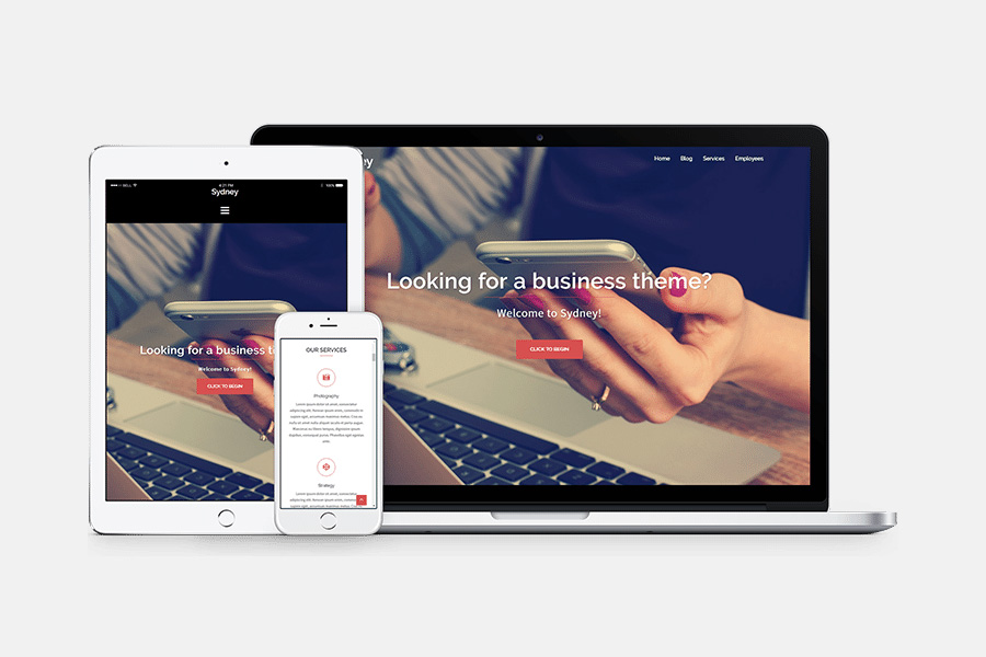 Graphic Ghost - Sydney - Wordpress Theme