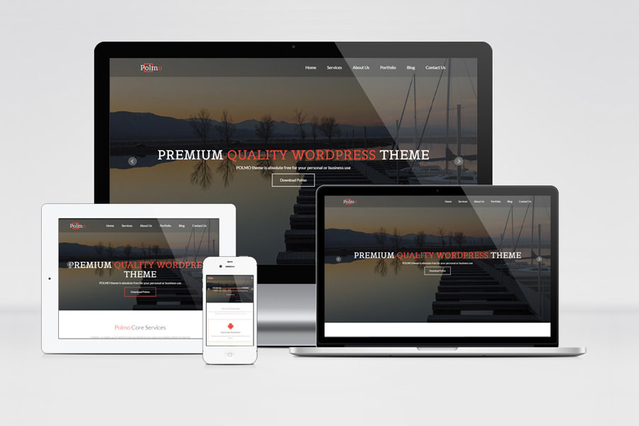 Polmo - WordPress Theme - Graphic Ghost