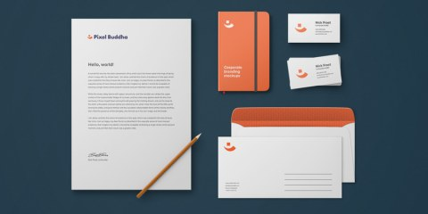 Graphic Ghost - Identity Branding Mockup Vol. 2