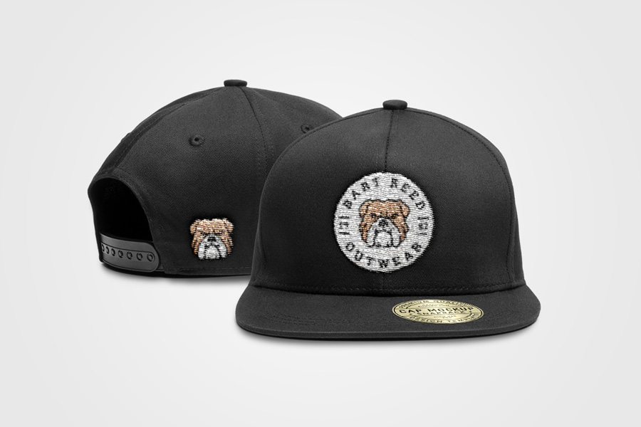 01e63c3a04b Snapback Cap PSD Mockup - Graphic Ghost