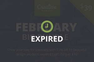 Graphic Ghost - Creative Market - February Big Bundle