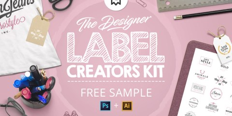Graphic Ghost - The Designer Label Creators Kit