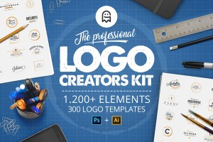 Graphic Ghost - The Professional Logo Creators Kit