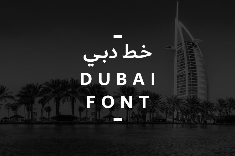Graphic Ghost - The Official Dubai Font