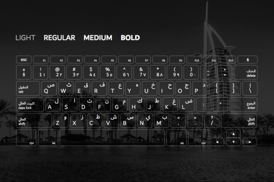 Graphic Ghost - The Official Dubai Font Preview