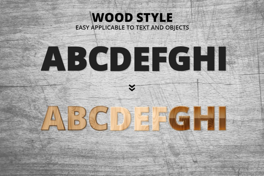 Graphic Ghost - Wood Style Vector Textures - Preview 02
