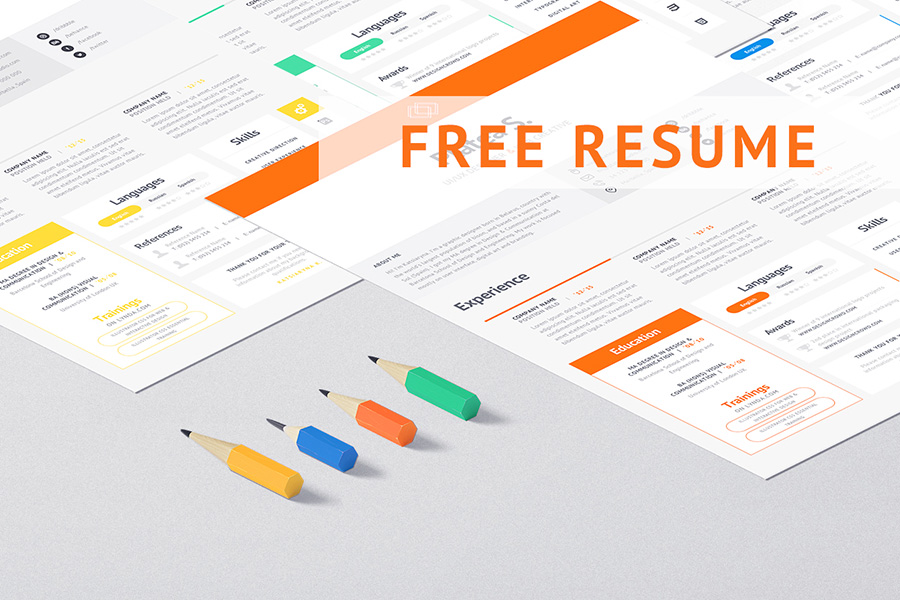 Graphic Ghost - Clean and Minimal Resume Template