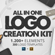 Graphic Ghost - All In One Logo Creation Kit