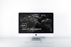 Graphic Ghost - Free iMac 2019 Mockup