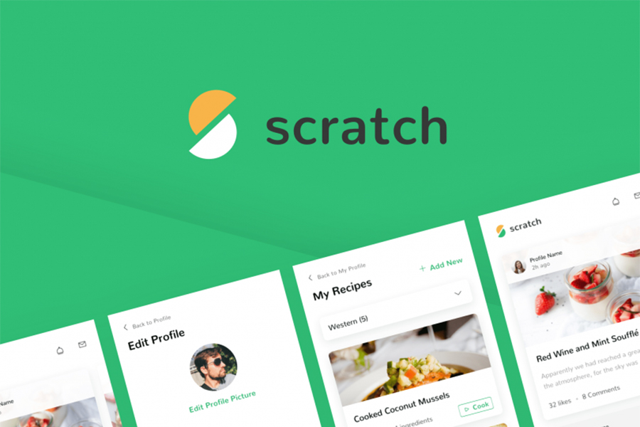 Graphic Ghost - Scratch - A UI Kit to Nourish Your Creativity