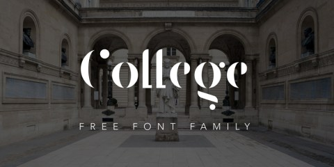 Graphic Ghost - Free Elegant - Stencil Font