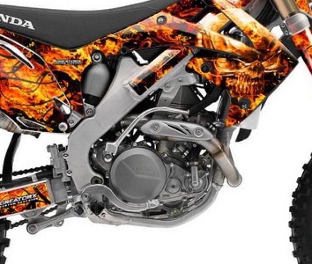 Honda Crf Crf Graphics Inferno Orange